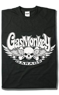 Camiseta White Skull - Gas Monkey