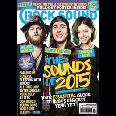 We're on the cover of this month's @rocksound magazine!  Order your copy here now - smarturl.it/soundsof2015