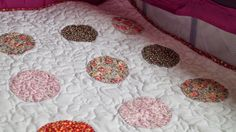 Little Purple Mom: Colcha con aplicaciones para bebé (quilt  principi...