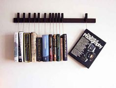 Let your books hang out together.