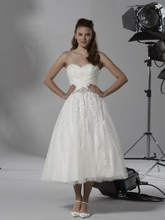 We have the FULL LENGTH version of this dress... by Romantica