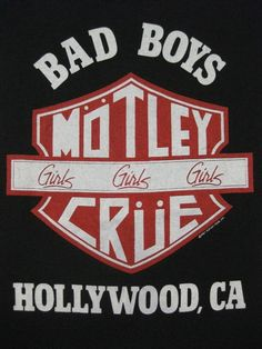Vintage MOTLEY CRUE 1987 tour T SHIRT concert by rainbowgasoline, $150.00