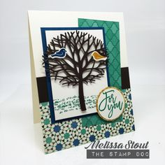 Moroccan Thoughtful Branches Stampin Up by Melissa Stout