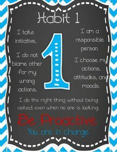 Leader in me 7 habits signs