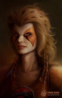 Cheetara -- The Thundercats Mona Lisa Thundercats Costume, Thundercats Characters, Comic Books Art, Comic Art, Gi Joe, Les Aliens, Arte Dc Comics, Street Fighter, Character Art