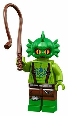 NEW Lego Castle Knight BLUE GOLD AXE Skeleton Minifig Weapon w//Trans Blade Head