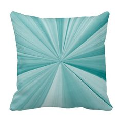 Turquoise Pinch Knot Sofa Pillow by Janz