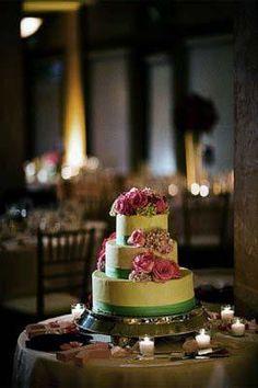 Mrs. Eggplant's wedding cake