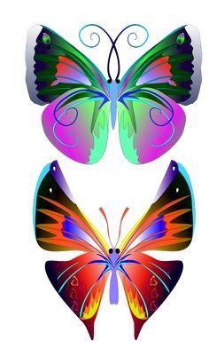 MARIPOSAS libélulas   manualidades párr Imágenes Muy divertido grande del Material Escolar   colección de arte de la ilustración de arte
