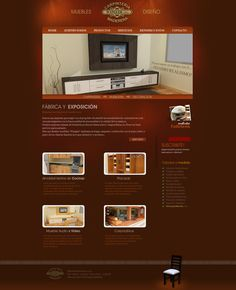 Wangler Mueblería y Decoración Diseño y desarrollo web Galería de fotos adminstrable Web: www.mueblesushuaia.com.ar