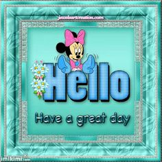 Hello Hello Goodbye, Have A Great Day, Frame, Humor, Picture Frame, Humour, Funny Photos, Frames, Funny Humor