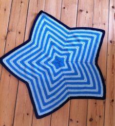 Creative Tail: Hæklet stjerne tæppe