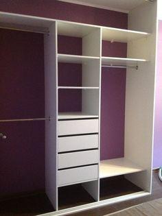 Nasza specjalność to przede wszystkim zabudowa kuchni, ale również wykonujemy szafy wnękowe i wolnostojące, zabudowę łazienkową, regały na wymiar, a także innego rodzaju meble. Teen Room Decor, Room Ideas Bedroom, Small Room Bedroom, Closet Bedroom, Bedroom Decor, Closet Renovation, Closet Remodel, Wardrobe Design Bedroom, Girl Bedroom Designs