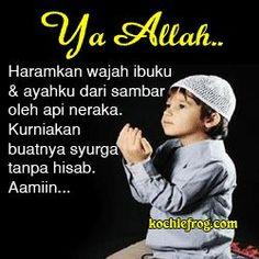 dp bbm doa anak untuk orang tua ibu dan ayah