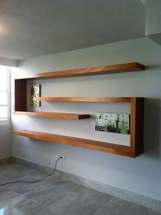 Regale – Home Office Design Diy Home Decor Furniture, Diy Home Decor, Furniture Design, Room Decor, Bookshelf Design, Wall Shelves Design, Wall Bookshelves, Regal Design, Home Interior Design