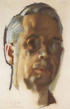 Konstantin Somov: Self Portrait 1925
