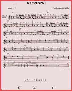 Kliknij aby przejść do następnego Alto Sax Sheet Music, Violin Songs, Polish Music, Kalimba, Music Notes, Musical, Ukulele, Casio, Music Artists