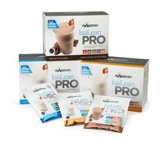 "IsaLean® PRO Shake - ""This specialized nutrition is great for athletes, active people and teens who want to gain muscle and for those trying to break through weight-loss plateaus, lose stubborn belly or harmful visceral fat."""