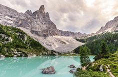 Sorapiss Lake - Dolomites, Italy