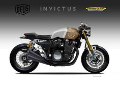 "Yamaha XJR1300 Cafe Racer ""INVICTUS"" Deus Ex Machina by Oberdan Bezzi #motorcycles #caferacer #motos 