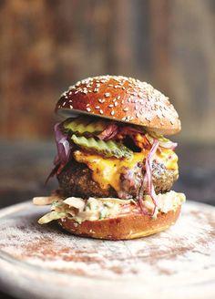 I'm craving a burger and you?  Instagram - The Black Workshop
