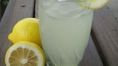 Best Lemonade Ever made Increased lemon juice to 1 cups. Best lemonade ever Good Lemonade Recipe, Best Lemonade, Homemade Lemonade, Refreshing Drinks, Yummy Drinks, Fun Drinks, Cold Drinks, Fresh Squeezed Lemonade, Summer Treats