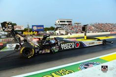 Antron Brown & Team Racing at the Lucas Oil interNational Raceway in the Matco Tools Nitro Dragster