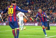Blog Esportivo do Suíço: Com gols de Messi, Neymar e Suárez Barça vence Atlético de Madrid