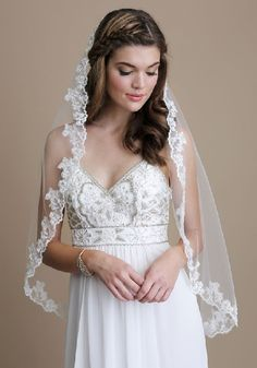 Vail Daisy Storee Wedding Veil Simple Wedding Veil One Layer Wedding Veil Simple Tulle Wedding Veil