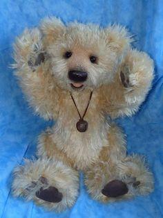 Murphy Beautiful OOAK Huge Bear by By Monika Stein / Stein-Baren | Bear Pile