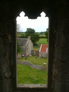 ballinahown ireland   View from window