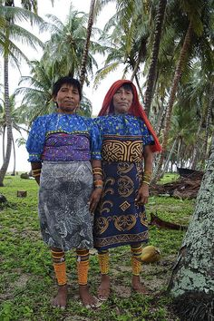 Panama - Kuna Indians by Marc Veraart, via Flickr