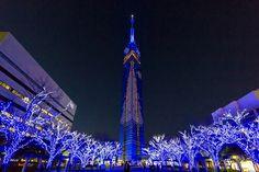 福岡タワークリスマスイルミネーション!