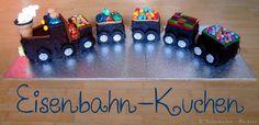 Eisenbahn-Kuchen / Lokomotiven-Kuchen