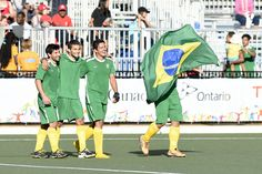 Yes, we can! Brasil vence os EUA no hóquei na grama e vai ao Rio 2016 #globoesporte