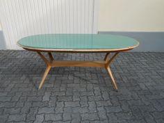 GIO PONTI Un tavolo, anni \'50. Legno di : Lot 2066 | Design ...