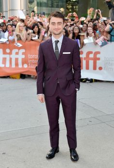 Daniel Radcliff in David Hart attends the 'Kill Your Darlings' Premiere during the 2013 Toronto International Film Festival. #bestdressed