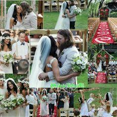 Mr & Mrs Danielson!! Brie Bella and Daniel Bryan ❤️❤️ Braniel wedding