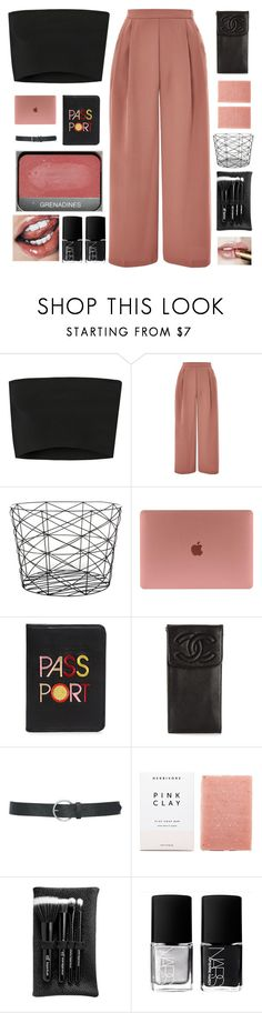 """SO HOLD ON DARLING WE NEED TO HOLD IT DOWN"" by c-ityscape ❤ liked on Polyvore featuring Calvin Klein Collection, Topshop, Bloomingville, Lizzie Fortunato, Chanel, M&Co, Herbivore, e.l.f. and NARS Cosmetics"
