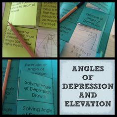 angle of depression problems with solutions pdf
