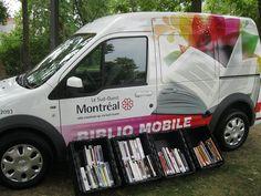 Bibliomobile, arrondissement du Sud-Ouest, Montréal, Québec