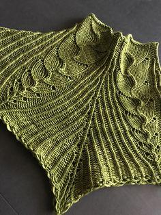 Emergent Growth Cowl  by Lavish Craft | malabrigo Rios in Lettuce