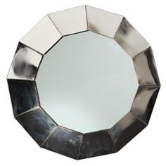 High Tech Industrial Jere style Wall Mirror