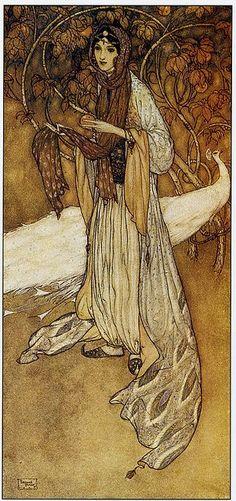 Princess Scheherazade - By Edmund Dulac