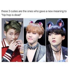 BTS rapper line is dead, they're to fluffy for cypher pt. 5.. so don't wait for it.. sorry bae~ JOKING JOKING the cyphers are my LYFFFEEE but they're the cutest human beings ever okokokok ❤ #BTS #방탄소년단