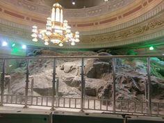 A beautiful view of  mt. Safa  inside  #masjid  Al Haram  # Mecca