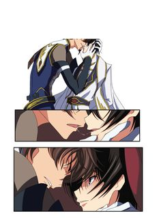 Lelouch Lamperouge, All Codes, Code Geass, Anime Ships, Manga, Anime Couples, Aesthetic Anime, Bellisima, Comic Art