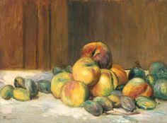 Auguste Renoir, 'Peaches and Almonds' 1901