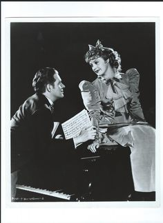 Promo photo fro Bitter Sweet - Nelson Eddy and Jeanette MacDonald - Escano Collection