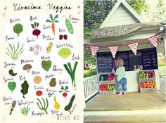 lily&Bloom . eAt . yOur . vEggies . vivAcious vEggies from @neikoart . #FoodRevolutionDay . #veggies
